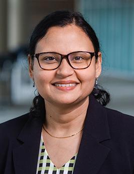 Romi Gupta, Ph.D., assistant professor of biochemistry and molecular genetics