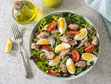 Fresh Homemade Nicoise Salad