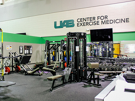 Overall of the Exercise Intervention Facility at the Center for Exercise Medicine Exercise Clinical Trials Facility, 2020.