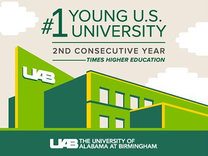 UAB - News - No  1 again — Times Higher Ed ranks UAB the top