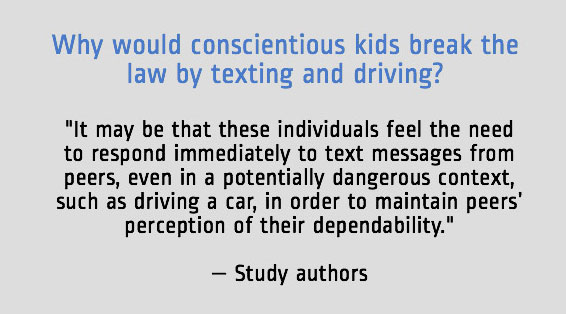 distracted driver teen