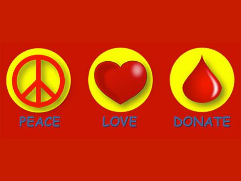 UAB - News - Peace, Love, Donate  Summer blood drive