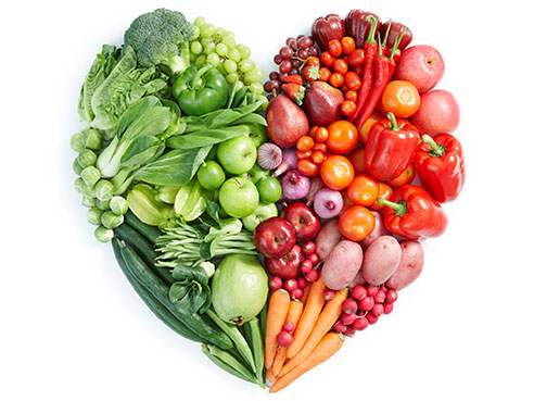 eating healthy heart