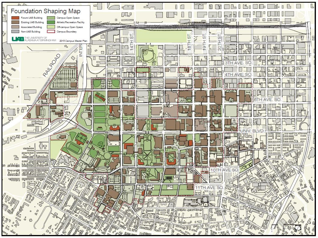 Floor Plan Finance Uab News New Campus Master Plan Developed After Key