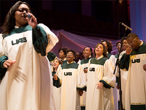 gospel choir 2017