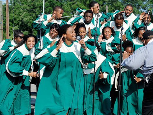gospel choir new 2015