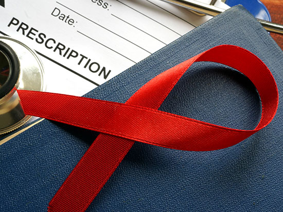 hiv prescription pad