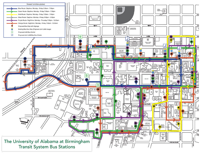 UAB To Launch Blazer Express Transit System In 2014