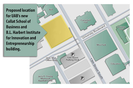 UAB - News - Building to house UAB\'s Collat School of Business, B.L. ...