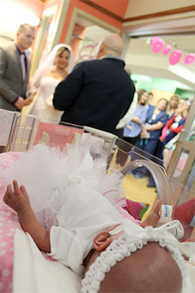 wedding nicu vows