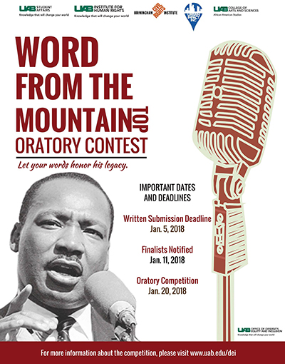 word from mountaintop contest