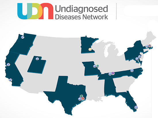 undiagnosed map