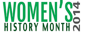 womens history month logo s