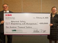 KBR donates $100k to UAB School of Engineering ASEM program