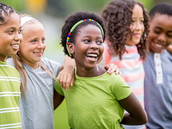 """Children at the Campus of Hope learn to be """"Healthy Happy Kids"""""""