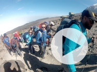 UAB nurse and two-time transplant recipient, Team Mountain showcase the power of organ donation with Mount Kilimanjaro climb