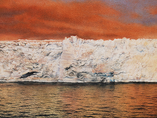 "UAB's AEIVA presents artist Allyson Comstock, ""Antarctica: A Disappearing Continent"" from Jan. 13-March 21"