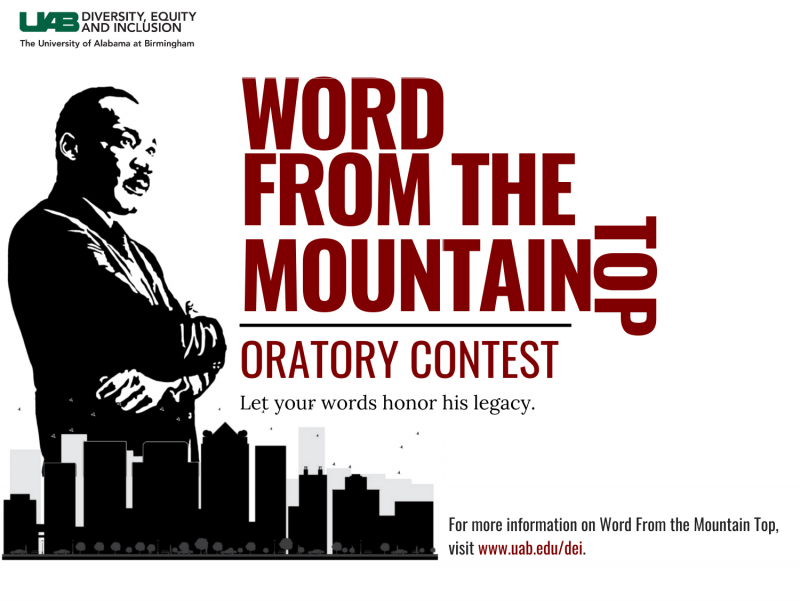 """Word from the Mountain Top"" Oratory Contest provides local students chance to get their voices heard"