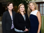 Kelly Flood, M.D., Emily Simmons and Deborah Cleeter