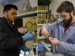 Undergraduate students gain research experience in drug discovery lab