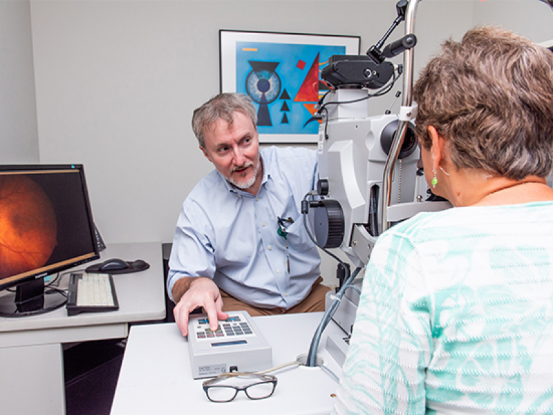 Ophthalmology's Clinical Research Unit enhances potential discoveries