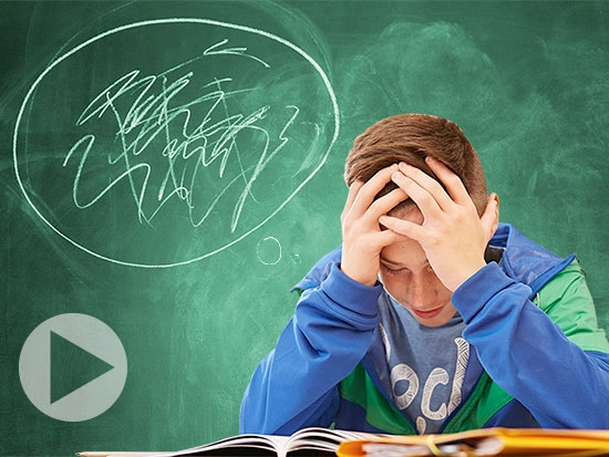 Vision symptoms following concussion can limit a child's ability to return to the classroom