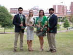 Allie David and Chirag Patel named winners of 34th annual Mr. and Ms. UAB Scholarship Competition