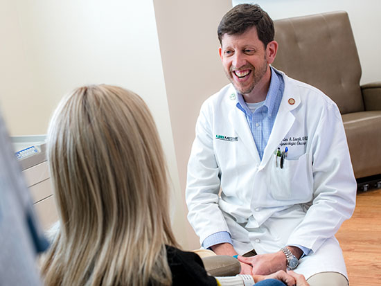 Leath named division director of Division of Gynecologic Oncology