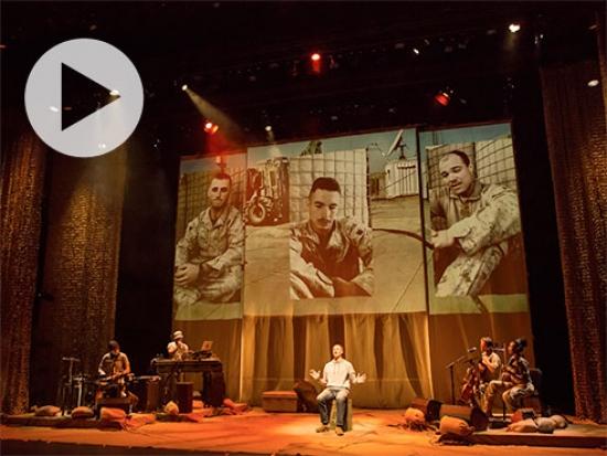 BASETRACK Live: true stories of Marines who served in Afghanistan, Nov. 13 at UAB