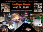 UAB Gospel Choir heading to Sin City for spring break tour