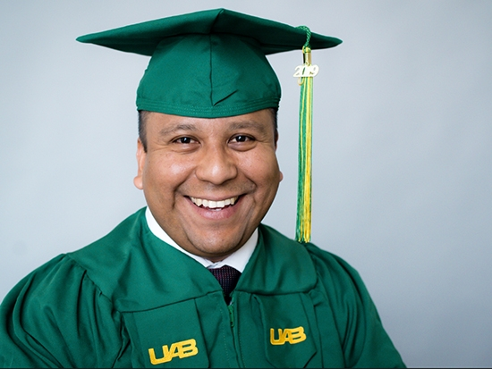 Bachelor's degree caps a long, full decade for one determined engineer
