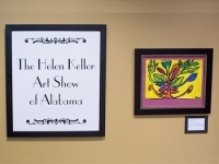 Art created by visually impaired Alabama children featured in Helen Keller Art Show