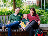 Nontraditional student family pursues path to degrees with help of family, friends, UAB