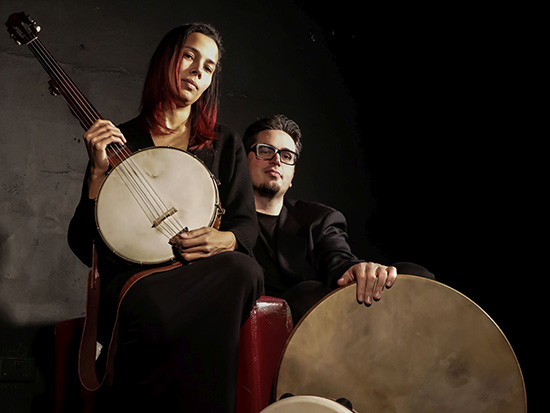 """Sept. 19, Rhiannon Giddens, Francesco Turrisi bring """"There Is No Other"""" tour to UAB's Alys Stephens Center"""