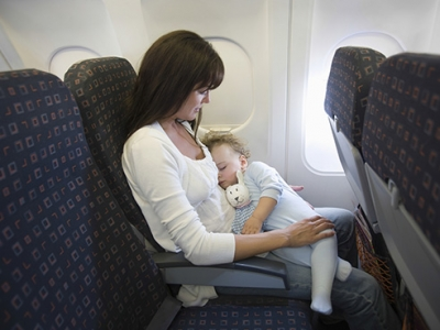 How to keep an infant safe while flying