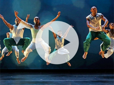 Ronald K. Brown's Evidence Dance Company will perform April 19-21 at UAB