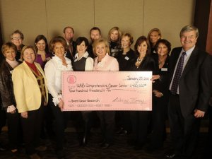 Breast Cancer Research Foundation of Alabama makes its largest donation yet to UAB