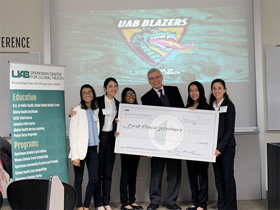 Students to tackle global health problems in statewide competition