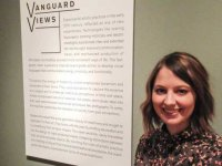 Graduating UAB student curates show of modern art at BMA