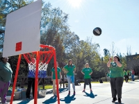 Students make fitness fun for everyone