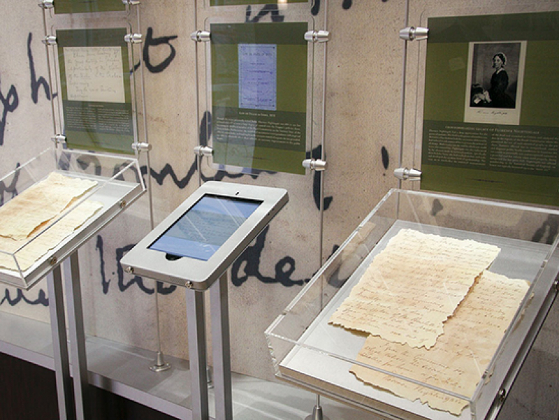 School of Nursing adds eight original letters written by Florence Nightingale to collection