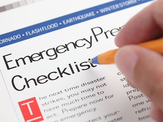 Are you prepared in the event of a disaster?