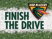 Supporters of UAB Athletics blow past Finish the Drive fundraising milestone