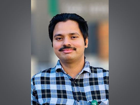 Vineeth Vijayan awarded prestigious NSF seed grant worth $40,000