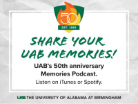 UAB launches podcast sharing memories from the past 50 years