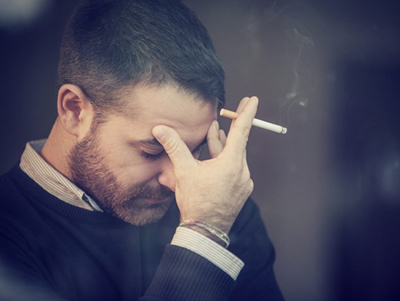 Significant unmet mental health care needs exist in current and former smokers with COPD