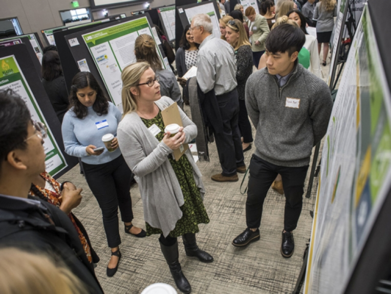 Phenomenal year for undergraduates presenting research on the big stage