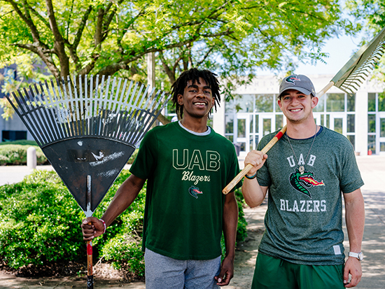 Nearly 40,000 volunteer hours committed to community service through UAB's BlazerPulse in 2019