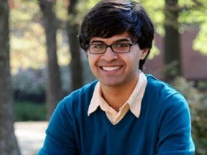 Krish Varma awarded a Fulbright Scholarship to teach in India