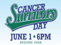Cancer survivors day at the ballpark